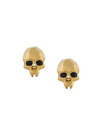 Kasun London Vampire Skull Earrings - Farfetch