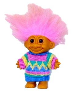 cute troll doll