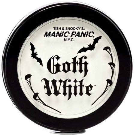 •• Manic Panic - Cream/Powder Foundation •• Goth White ••