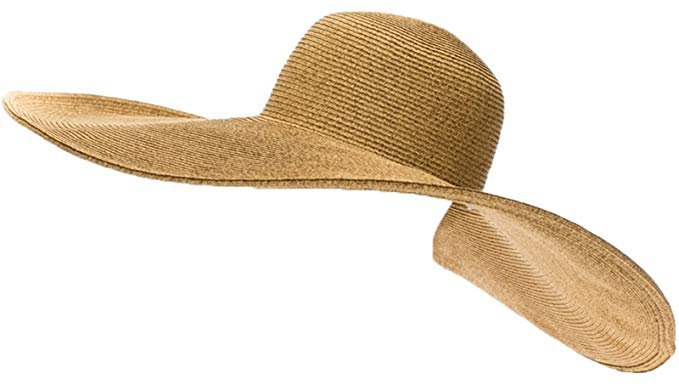 RPI Huge Straw Floppy Sun Hat, Super Wide Brim Beach Hat, SunBlocker Hat,