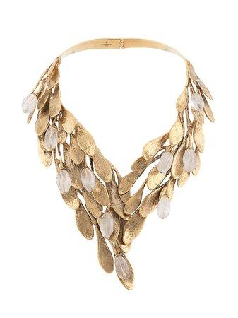 Goossens Leaf Construct Necklace - Farfetch