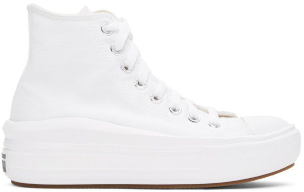 White Chuck Taylor All Star Move Sneakers