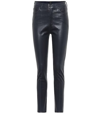Olivia high-rise skinny ankle jeans