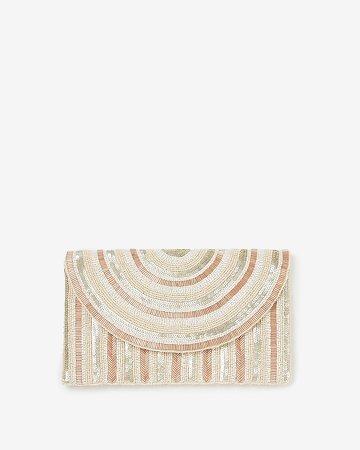 Sequin Embellished Clutch