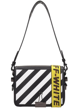 Off-White Diagonal Blinder Clip Bag