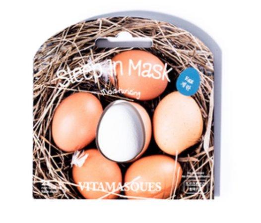 egg sleep in mask