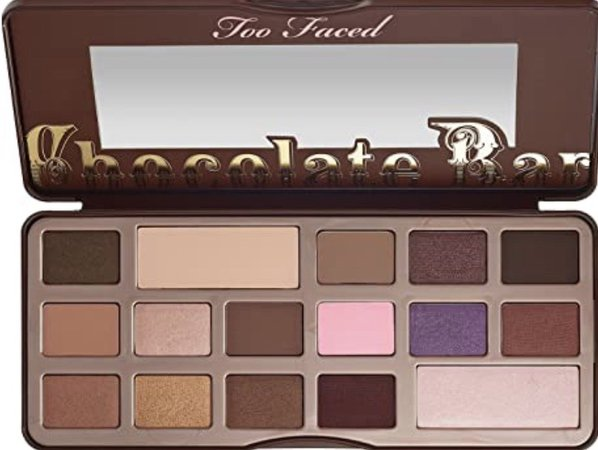 Two Faced chocolate bar pallet