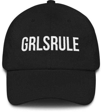 GIRLS RULE | GIRLS RULE HAT – little cutees