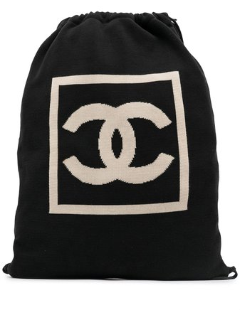 Chanel Pre-Owned 2003-2004 Sport Line CC Backpack - Farfetch