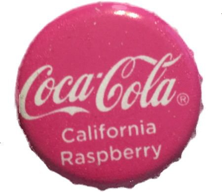 Coca-Cola Raspberry pink filler png