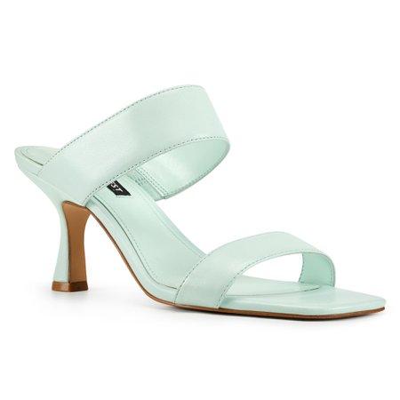 Net Heeled Sandals - Nine West