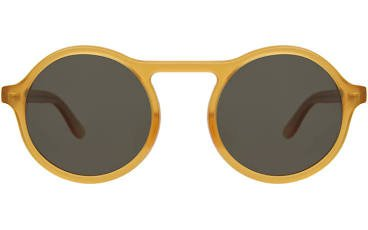 Tortona Sunglasses Honey Gold with Olive