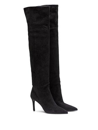 Prada knee-length boots - FARFETCH