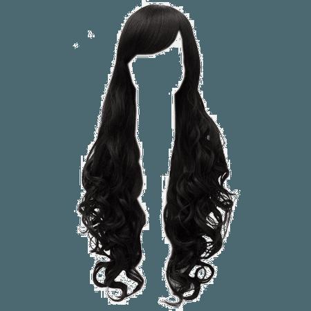 Black Hair PNG Photo   PNG Arts