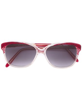Yves Saint Laurent Pre-Owned square frame sunglasses - FARFETCH