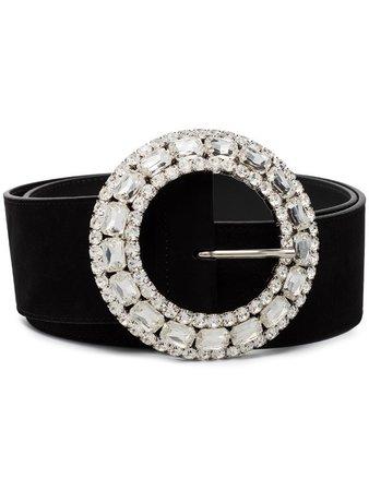 Alessandra Rich crystal-embellished Buckle Belt - Farfetch