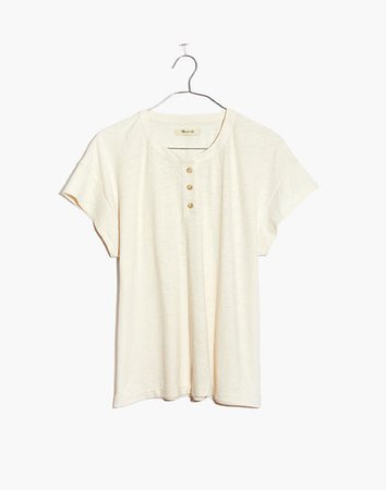 Hemp-Cotton Brother Henley Tee