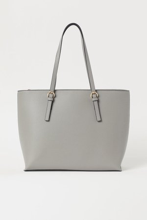 Large Shopper - Gray