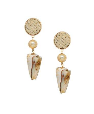 ETTIKA Nautical Nature Shell Earrings & Reviews - Earrings - Jewelry & Watches - Macy's