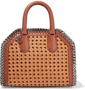 Falabella Box Woven Faux Leather Tote