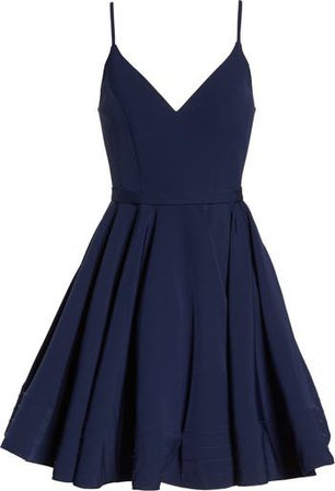 Ieena for Mac Duggal Fit & Flare Cocktail Dress   Nordstrom