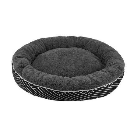 Round Plush Pet Bed - Large | Kmart