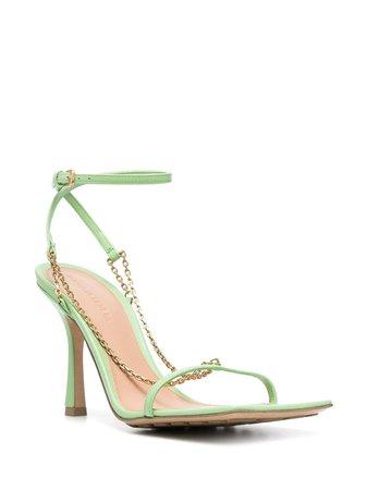 Bottega Veneta Stretch chain-detail Sandals - Farfetch