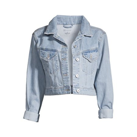 No Boundaries - No Boundaries Juniors Denim Jacket - Walmart.com - Walmart.com