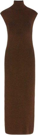 Mara Hoffman Kamela Ribbed-Knit Sweater Dress