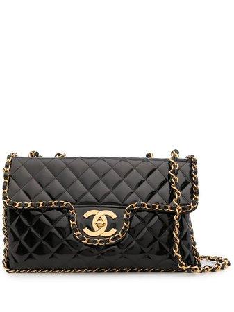 Chanel Pre-Owned 1995 Classic Flap Maxi Shoulder Bag - Farfetch
