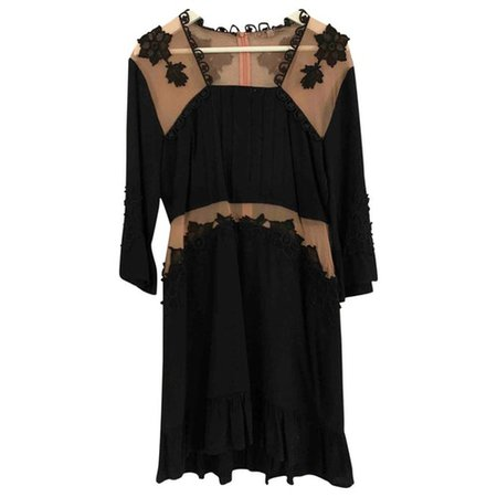 Mini dress For Love & Lemons Black size L International in Viscose - 9436034
