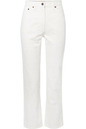 The Row | Charlee high-rise straight-leg jeans | NET-A-PORTER.COM