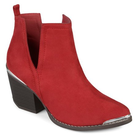 Brinley Co. - Brinley Co. Womens Dress Bootie - Walmart.com - Walmart.com red