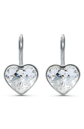 Swarovski Bella Heart Earrings | Nordstrom