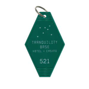 'TRANQUILITY BASE HOTEL + CASINO' KEY RING (GREEN) – ARCTIC MONKEYS