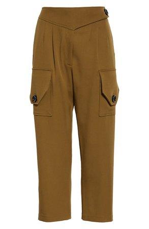 NICHOLAS Crop Cargo Pants | Nordstrom