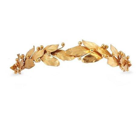 gold leaf hair pi