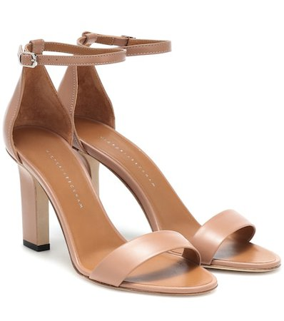 Anna leather sandals