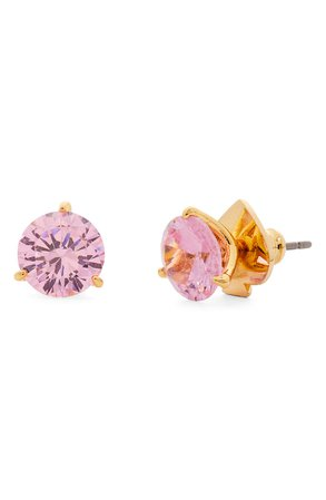 kate spade new york trio prong studs | Nordstrom