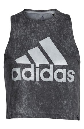 adidas Summerwash Crop Tank grey