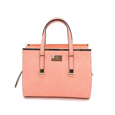 coral colored purse