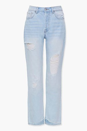 Distressed Boyfriend Jeans | Forever 21