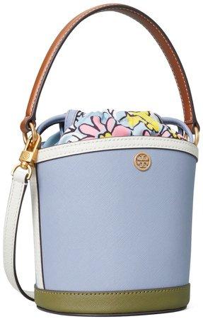 Robinson Color-Block Mini Bucket Bag