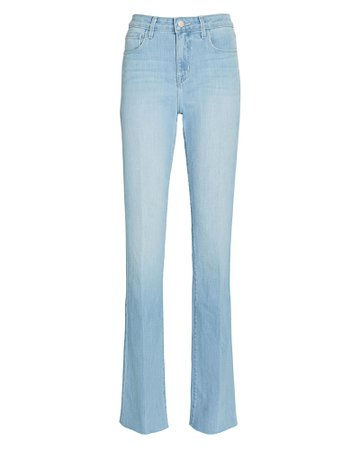 L'Agence Ruth High-Rise Straight-Leg Jeans | INTERMIX®