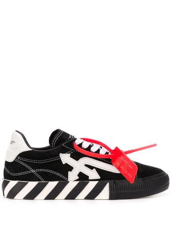 Off-White Arrow Vulcanized low-top Sneakers - Farfetch