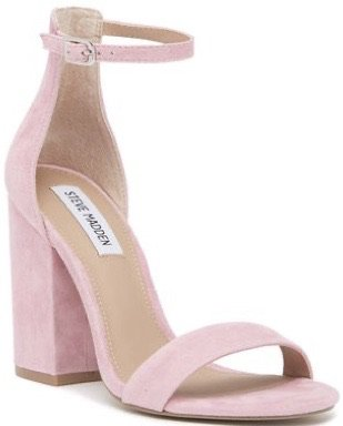 Light pink heels