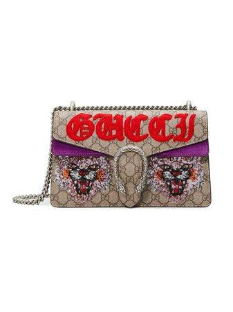 Gucci Dionysus GG Supreme Shoulder Bag | Farfetch.com