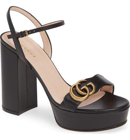 Gucci GG Platform Sandal (Women) | Nordstrom