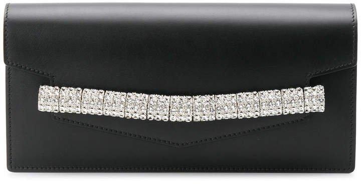 embellished envelope clutch