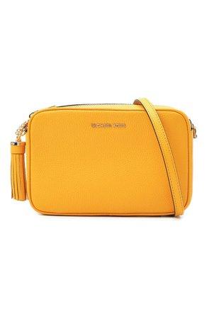 Женская желтая сумка ginny MICHAEL MICHAEL KORS — купить за 18700 руб. в интернет-магазине ЦУМ, арт. 32F7GGNM8L